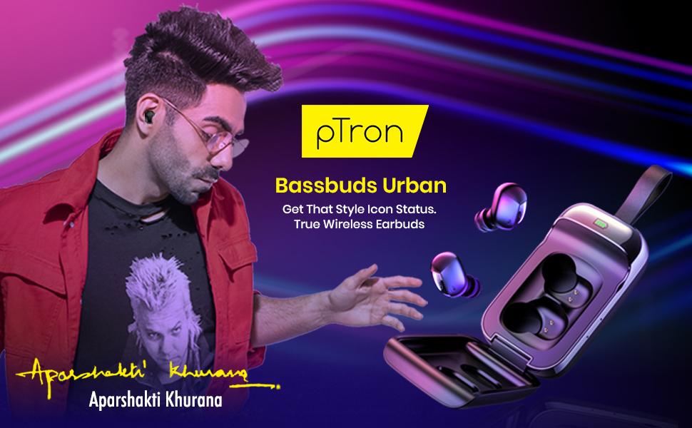 pTron Bassbuds Urban Wireless Earphones