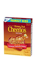 Honey Nut Cheerios Cereal Family Size
