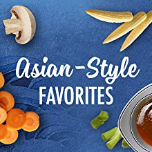 Asian style vegetables from La Choy