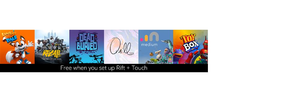 Oculus Rift And Touch Controllers Bundle Amazon Co Uk Pc