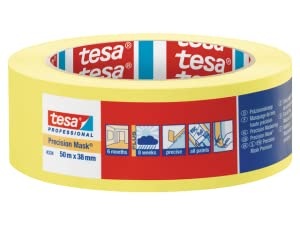 7 Day Residue Free tesa 59179 Easy Cover Indoor Large Area Masking Tape /& Film