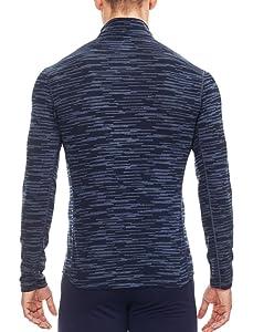 cbfc9769b8 Amazon.com: Icebreaker Merino Men's Oasis Long Sleeve Half Zip Top ...
