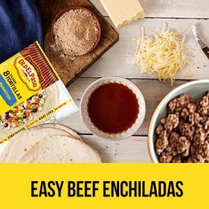 Amazon.com: Old El Paso Soft Tacos & Fajitas Shells, 8.2