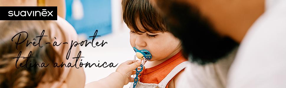 Suavinex - Chupete para bebés 0-6 meses. con tetina anatómica de ...
