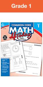 common core math 4 today workbook grade 1