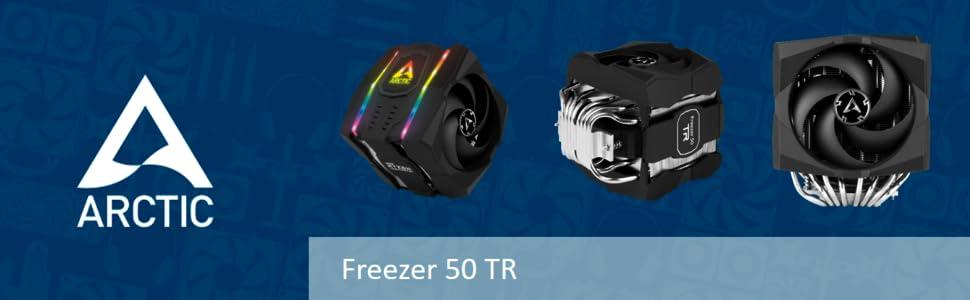 ARCTIC Freezer 50 TR - Refrigerador de CPU de Doble Torre para AMD ...