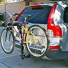 Bike Rack hitch, Bicycle stand, Outdoor, bike rack, bike stand, RV, towing, 4-bike hitch, bike hitch