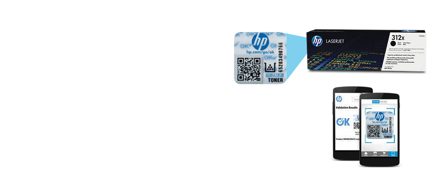 Remanufactured Toner Cartridge Replacement for HP Color Laserjet Pro MFP M476dw MFP M476dn MFP M476nw Printers 5BK+1C+1Y+1M by UstyleToner. 8 Pack 312X CF380X,CF381X,CF382X,CF383X