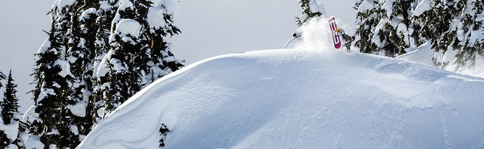 DC, snowboarding, outerwear, weather defense