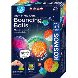 4 x LED Funny Maus LED Bälle Ball wie Springball Flummi