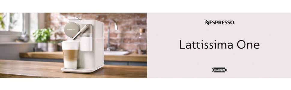 Lattissima One Silky White Nespresso EN500W