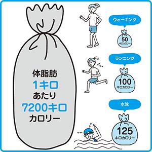【運動だけではヤセられない!?】