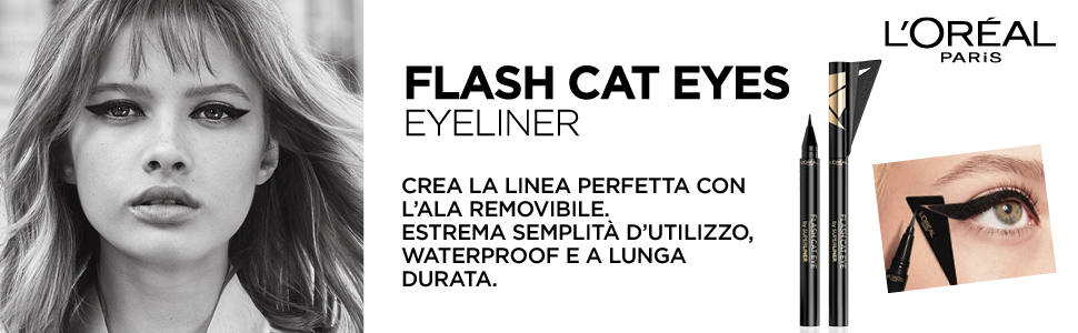 gel intenza, eyeliner, trucco occhi, matita occhi, make up, l'oreal, loreal, eye liner