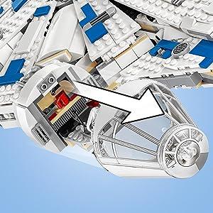 Amazon Com Lego Star Wars Kessel Run Millennium Falcon