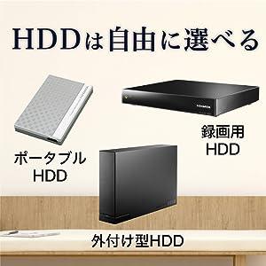 録画HDD