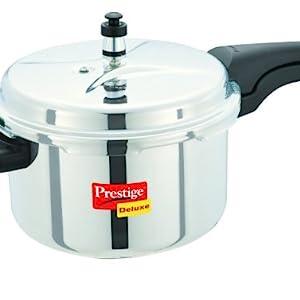 Prestige Deluxe Stainless Steel Pressure Cookers
