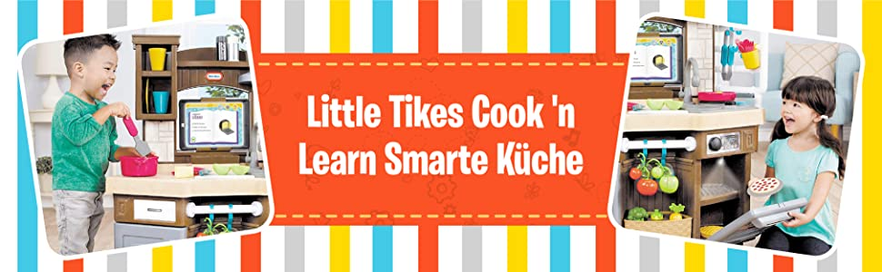 Little Tikes Cook And Learn Smart Kitchen Amazon De Spielzeug