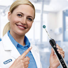 Details about Oral B Pro 2 2900 Duo Pack Cross Action Two Modes Electric Toothbrush