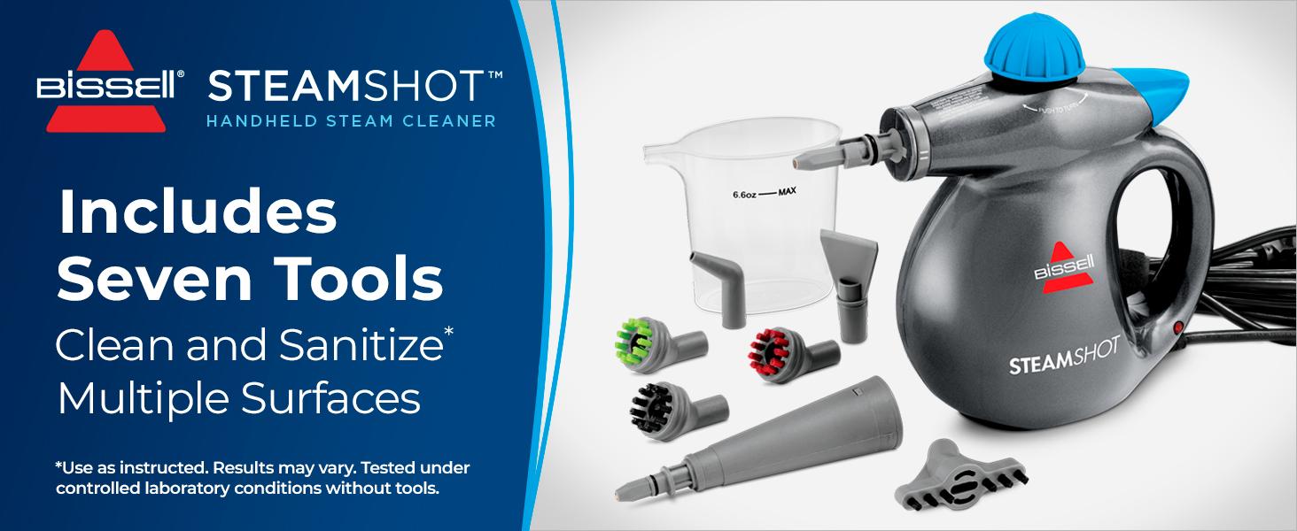 steam shot cleaner sanitization