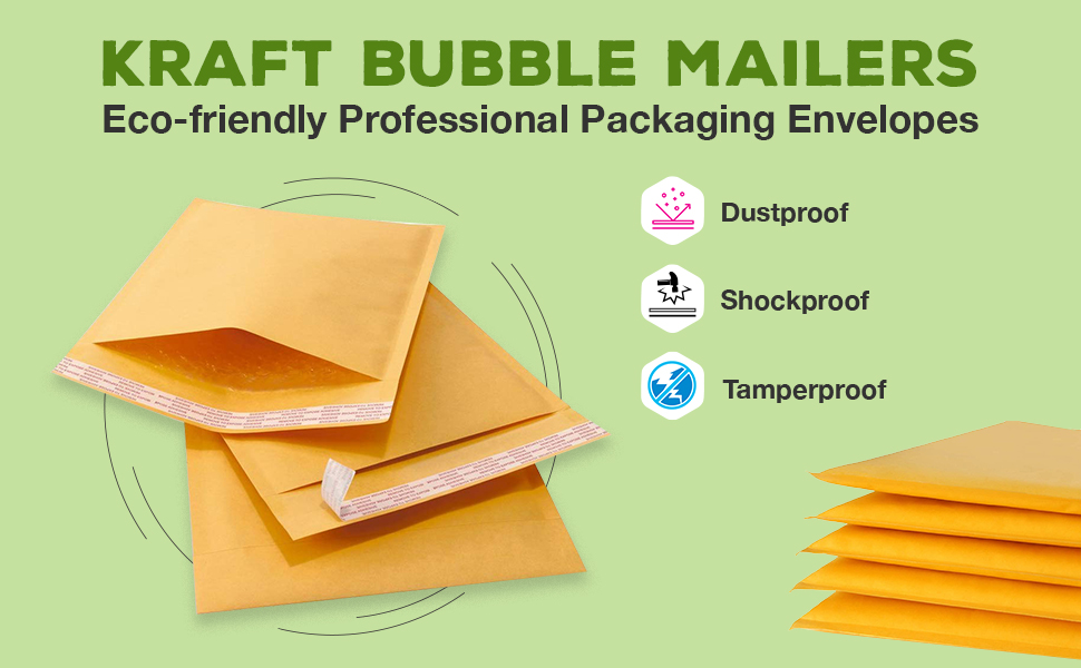 bubble mailers packaging