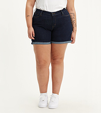 Plus-Size New Shorts