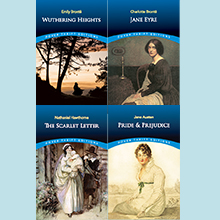 Jane Austen, Bronte, Hawthorne