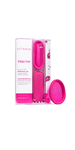 ziggy cup compact menstrual cup intimina