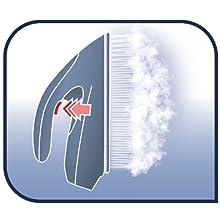 centrale vapeur express anti calc calor SV8055C0 defroissage vertical
