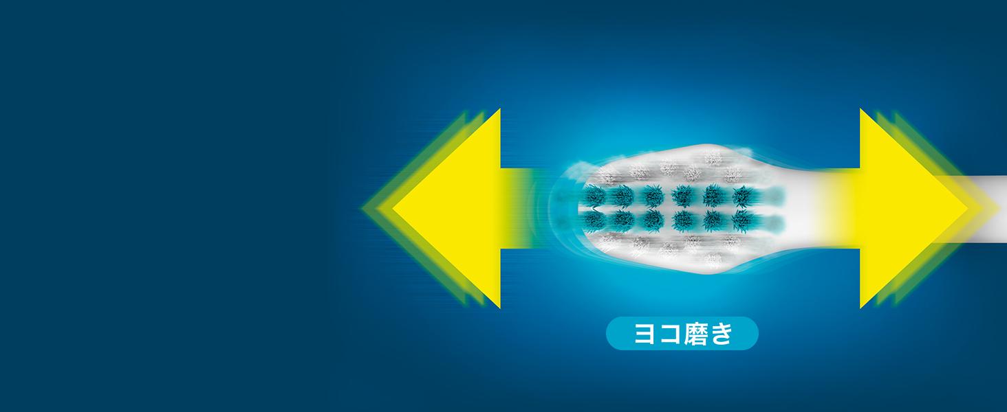 電動歯ブラシ 歯ブラシ 横磨き リニア音波振動 歯に当てるだけ 簡単 31000ブラシストローク 歯科医師推奨 きれいに磨く すっきり ドルツ 電動ブラシ 音波振動ハブラシ 歯磨き 歯の汚れ