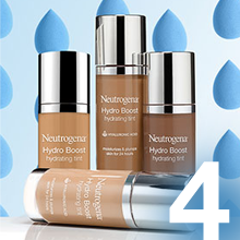 Complete your flawless look with our hydration infused makeup