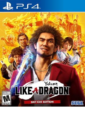Amazon Com Yakuza Like A Dragon Day Ichi Edition Playstation 4 Sega Video Games