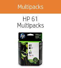HP 61 ink cartridge Multi Black + CMY