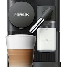 Nespresso Delonghi en 500.b lattissima one black-cafetera monodosis de cápsulas depósito de leche compacto, 19 bares, apagado automático, color negro, 1400 W, 0.03 litros, Plástico: Amazon.es: Hogar