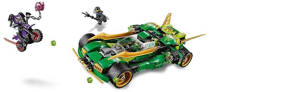 Lego Ninjago 70641 Lloyds Nachtflitzer Unterhaltungsspielzeug