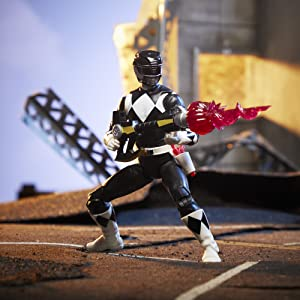 Power Rangers Lightning Collection Mighty Morphin Black Ranger Figure