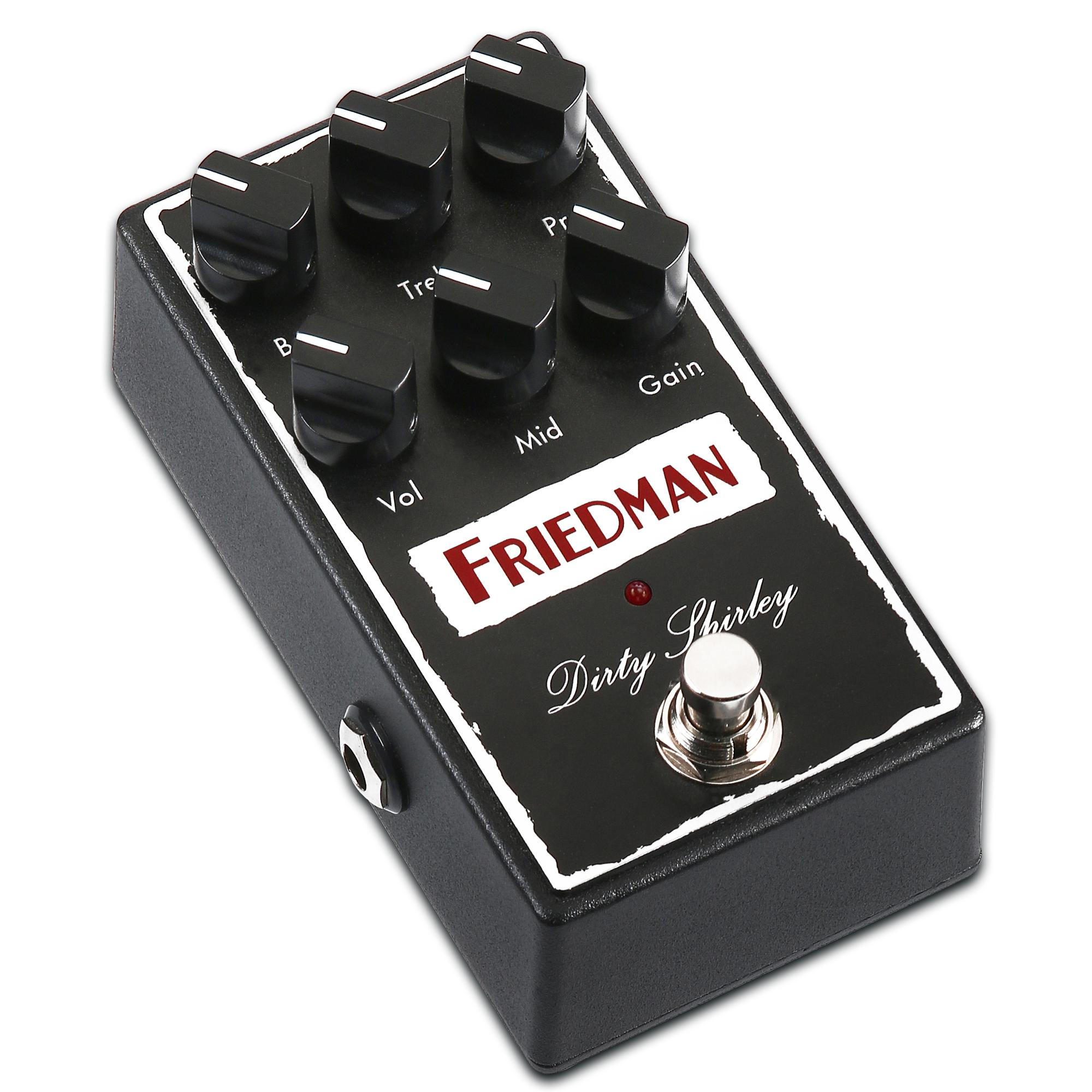 friedman amplification dirty shirley overdrive guitar effects pedal musical instruments. Black Bedroom Furniture Sets. Home Design Ideas