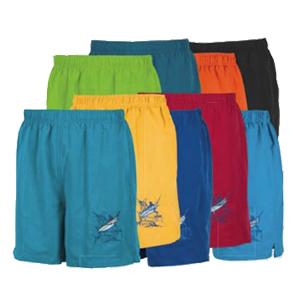 Guy Harvey Men's Grand Slam Lined Swim Trunks (Turquoise