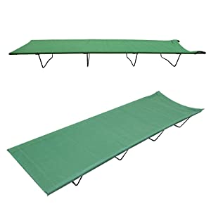 this great milestone camp bed has a 600d polyester cover meaning it is waterproof antistatic tear resistant and flame retardant a strong steel frame