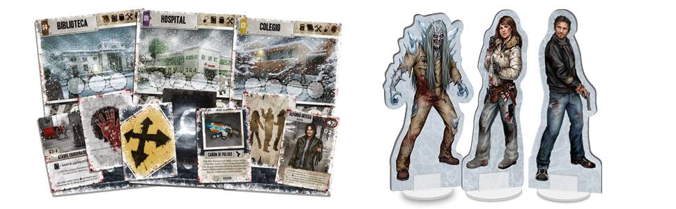 Edge Entertainment Dead of Winter - La Larga Noche, Juego de Mesa ...