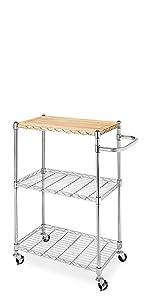 Supreme Sink Shelf - Chrome