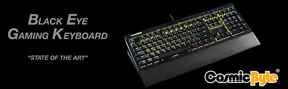 Cosmic Byte Black Eye Keyboard