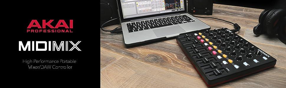 akai professional midimix high performance portable fully assignable midi mixer. Black Bedroom Furniture Sets. Home Design Ideas