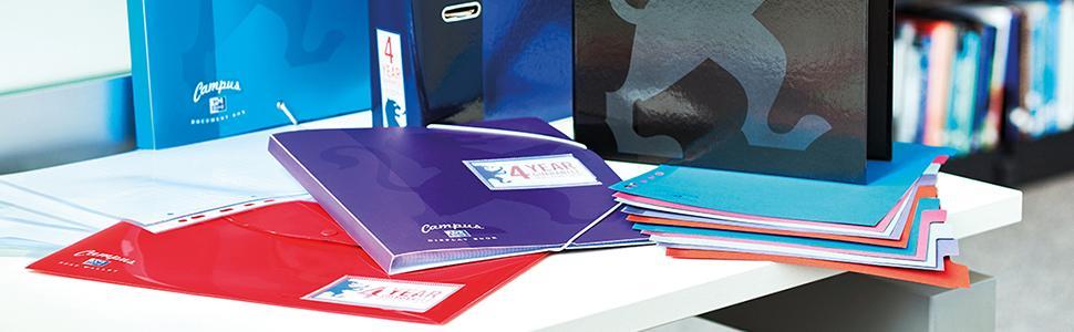 filing university student clean desk organised organiser school kit