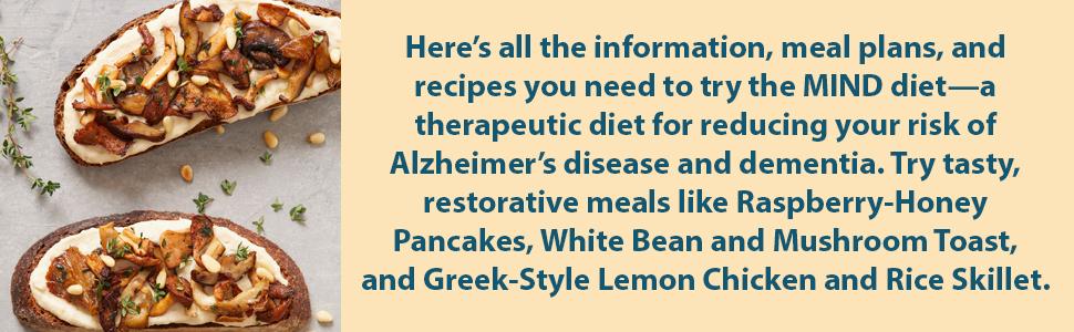 mind diet, mind diet cookbook, brain, diet books, alzheimers books, mind diet, mind diet cookbook