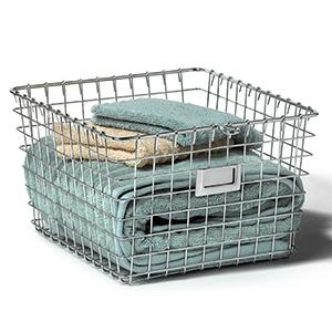 The Multi Functional Wire Storage Basket Can Be Used Anywhere Throughout  The Home