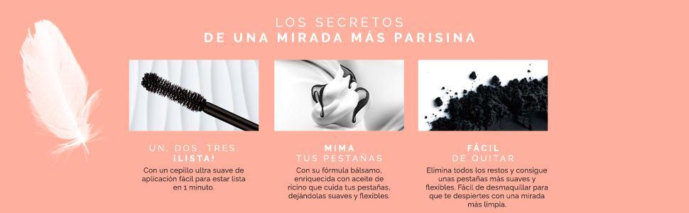 LOréal Paris Máscara de Pestañas Paradise Extatic Volumen y ...