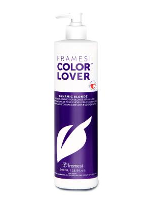 FRAMESI COLOR LOVER DYNAMIC BLONDE Purple Violet Toning Shampoo for Blondes