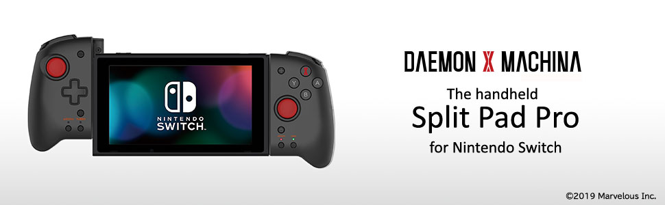 Amazon.com: HORI Nintendo Switch Split Pad Pro (Daemon X ...