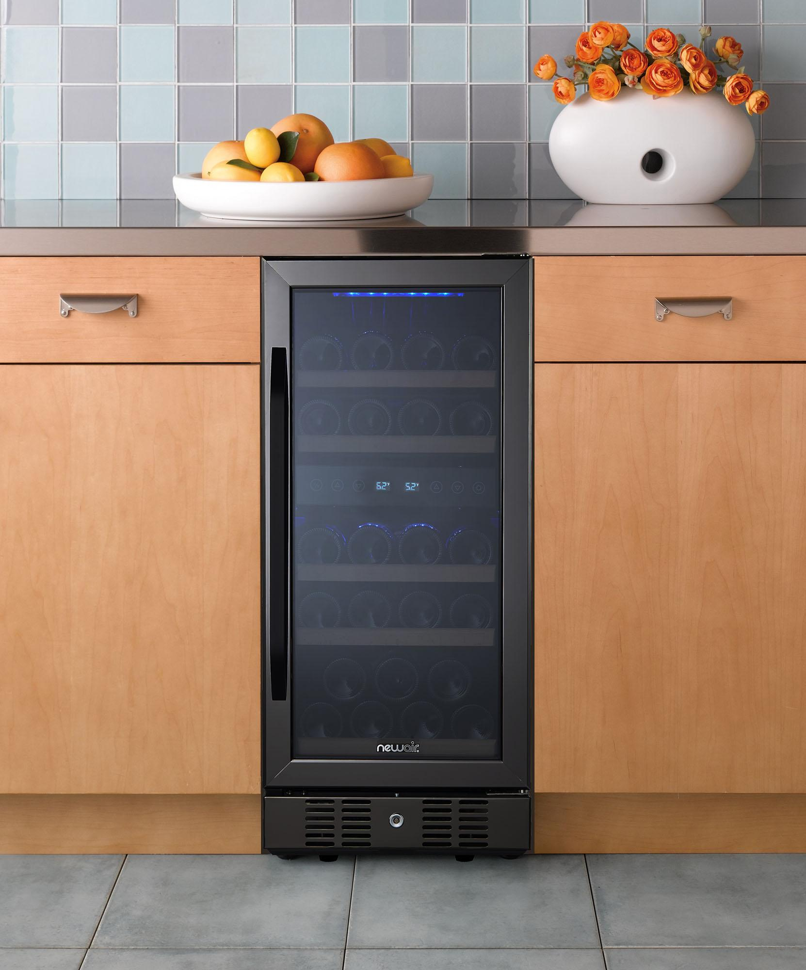 Amazon.com: NewAir Dual Zone Built-In Wine Cooler and