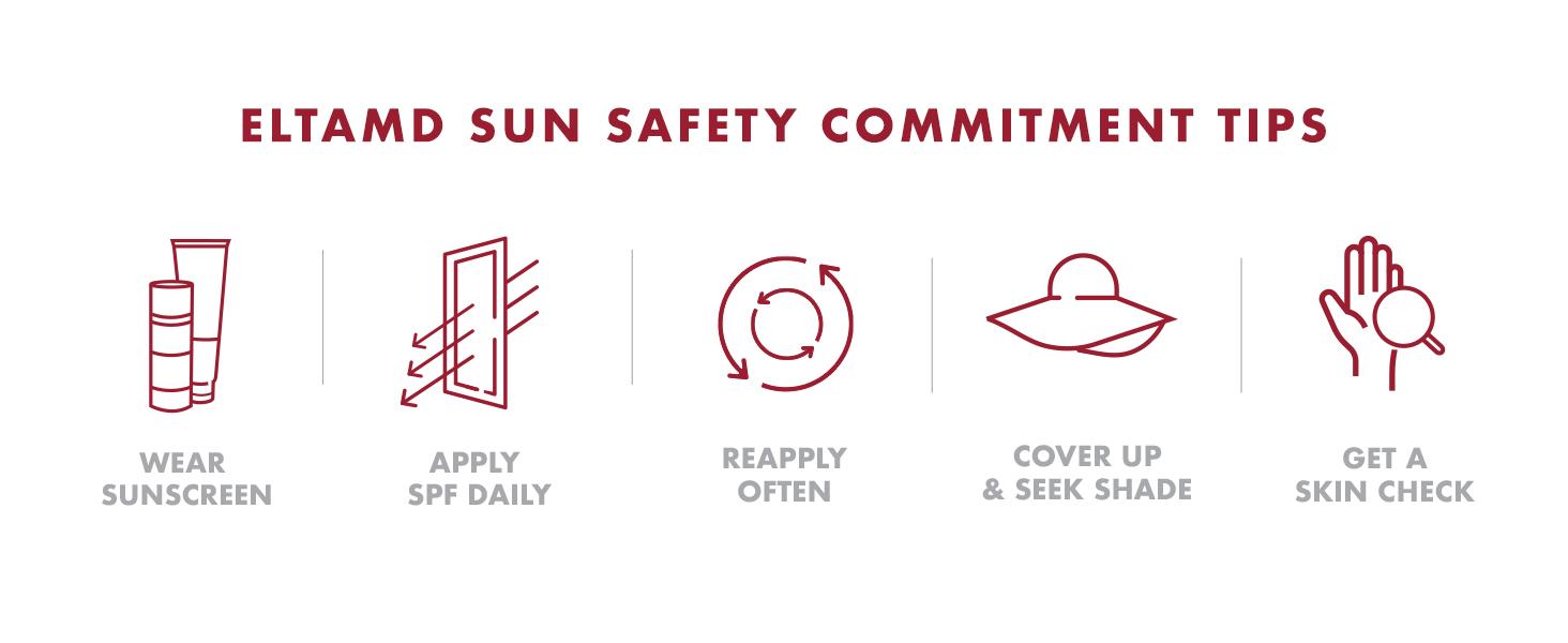 EltaMD Sun Safety Tips